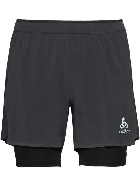 Odlo Zeroweight Ceramicool PRO 2 in 1 Shorts Men black-black